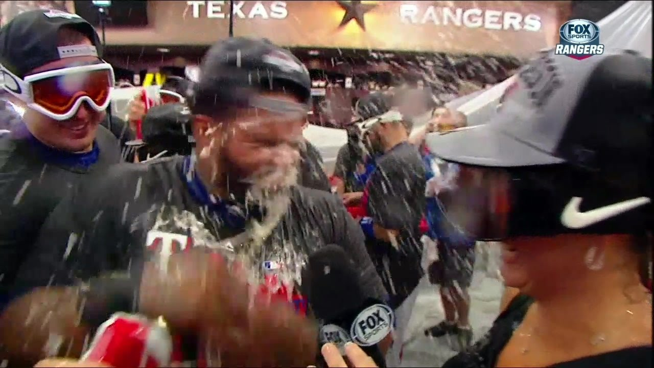 Prince Fielder takes a beer bomb to the face