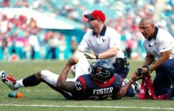 Arian Foster out for the season after tearing his ACL