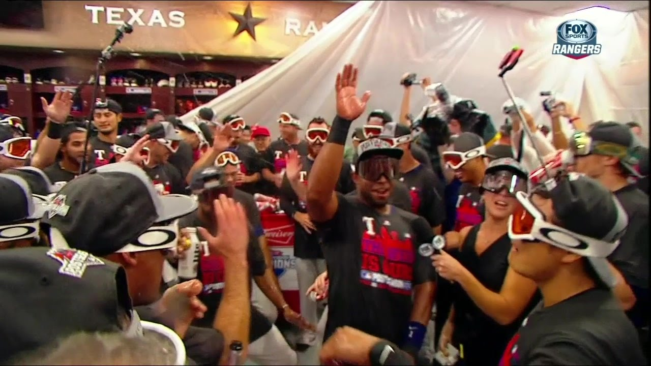 Rangers celebrate AL West crown with Whip & Nae Nae