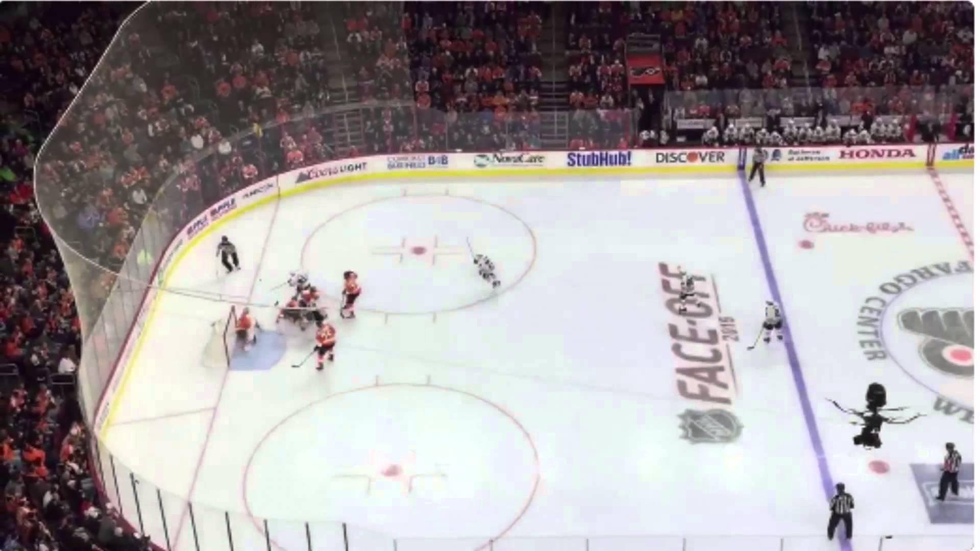 Savage: Philadelphia Flyers fans chant