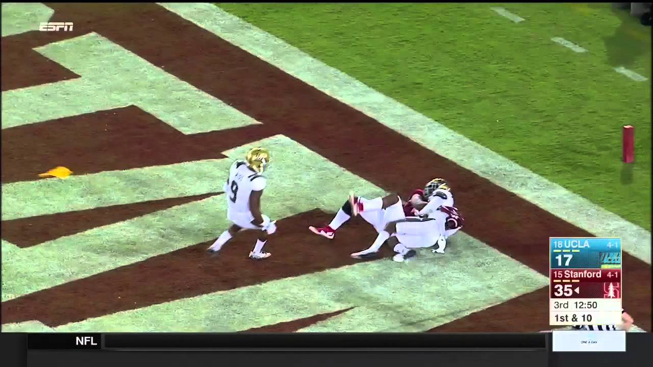 Stanford WR Francis Owusu makes the catch of the year