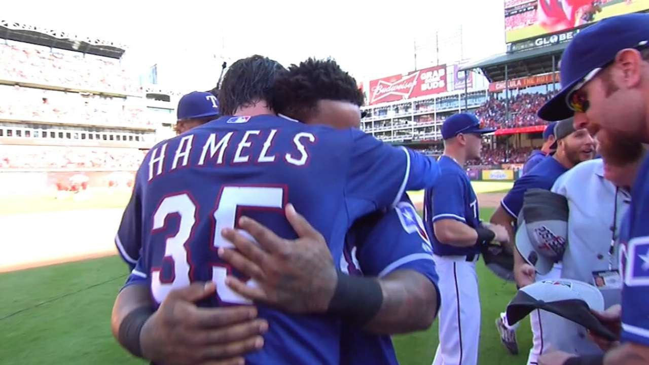 Texas Rangers clinch American League West title