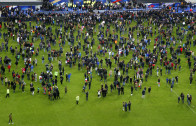 Suicide attacker explosion is heard during Germany vs. France friendly