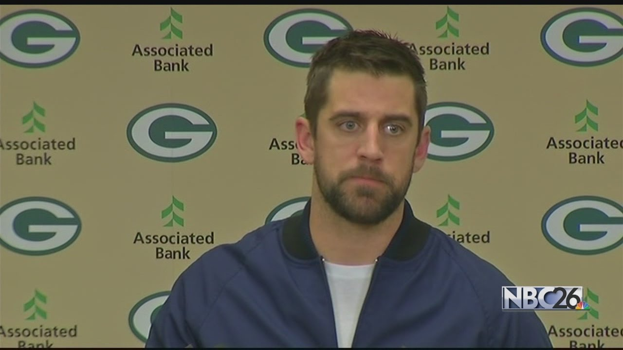 Aaron Rodgers addresses fan who interrupted moment of silence