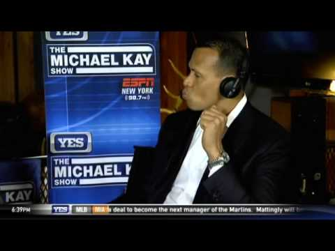Alex Rodriguez on his World Series broadcasting experience
