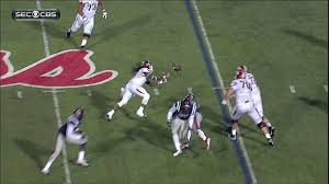 Arkansas converts unbelievable 4th & 25 lateral play
