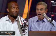 Champ Bailey says he laid off of Tim Tebow in practice because of how bad he was