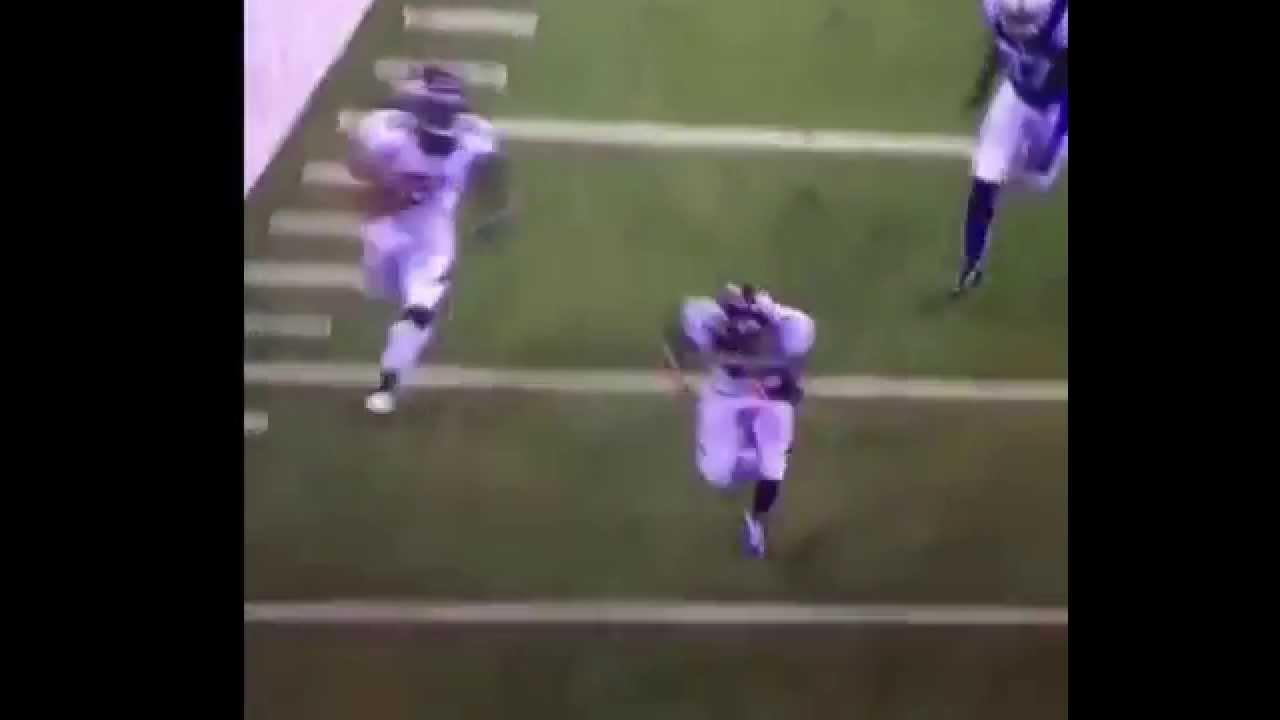 Colts punter Pat McAfee blows up a blocker during return