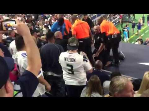Cops arrest rowdy Cowboys fan