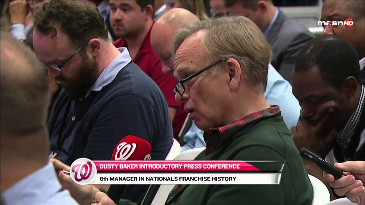 Dusty Baker introduced as the Nationals new manager (Full Press Conference)