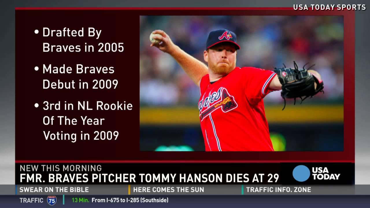 Ex-Braves pitcher Tommy Hanson dies at 29