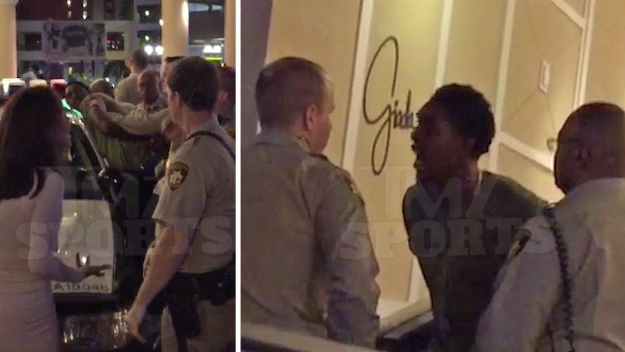 Footage of Lou Williams arrest in Las Vegas for