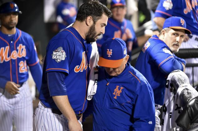 Matt Harvey refuses to let Terry Collins take him out of the game