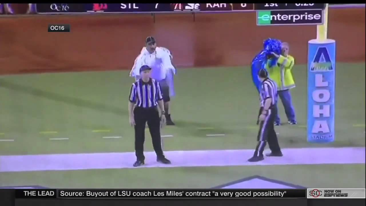 High school football ref uses cameraman to determine if PAT is good