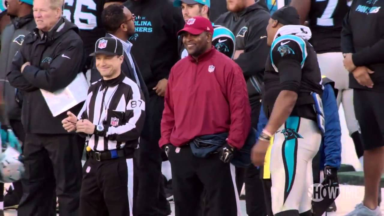 Hilarious: Cam Newton makes fun of young ref