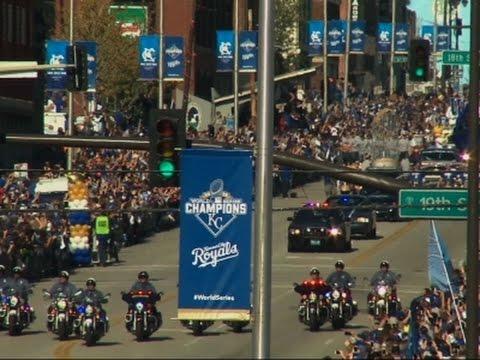 Kansas City parade celebrates Royals' victory