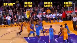 Kobe Bryant's air balls get the NBA Jam treatment