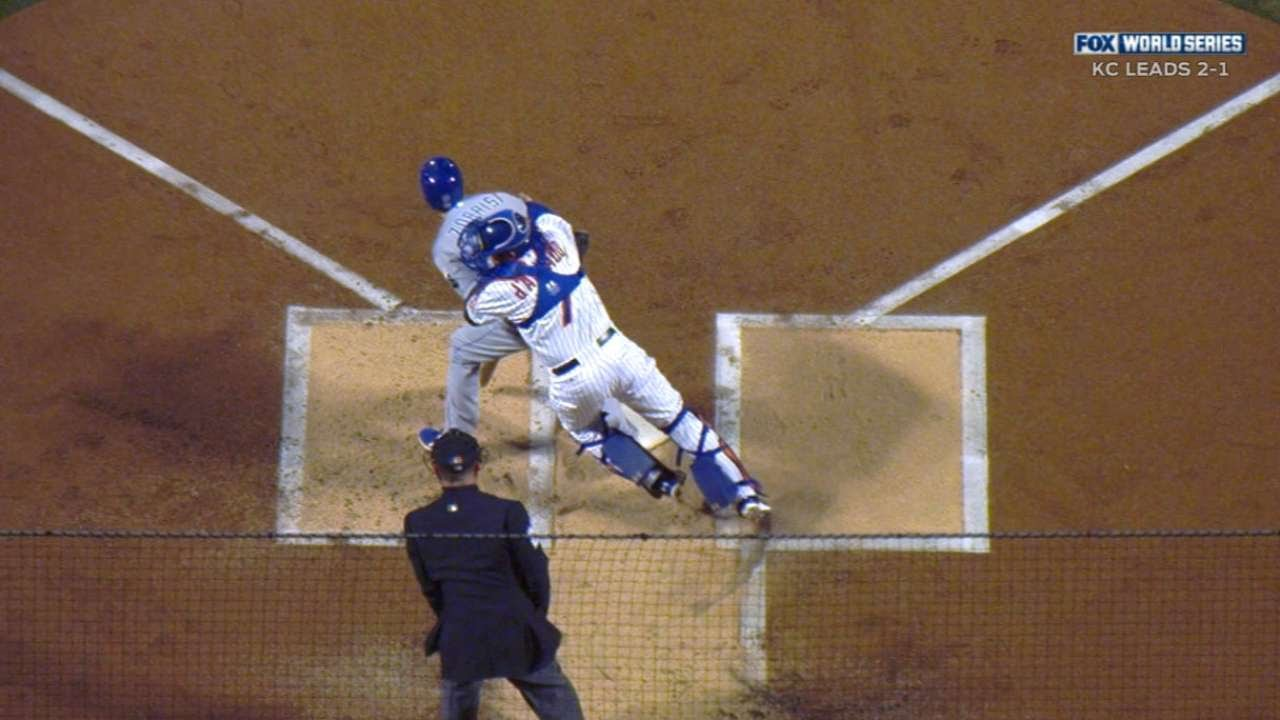 Mets get double play on Ben Zobrist's interference