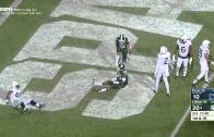 Michigan State WR Aaron Burbridge with surreal double spin move TD