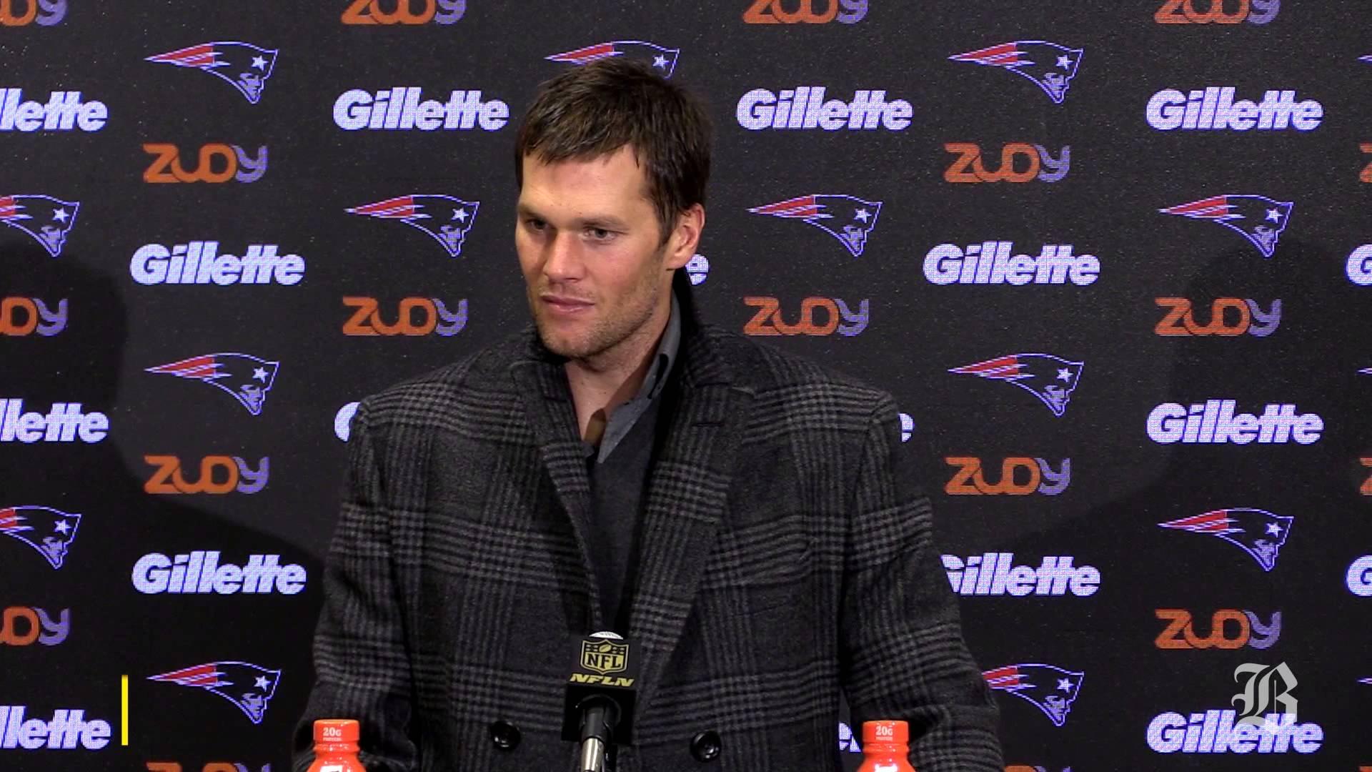 Tom Brady discusses