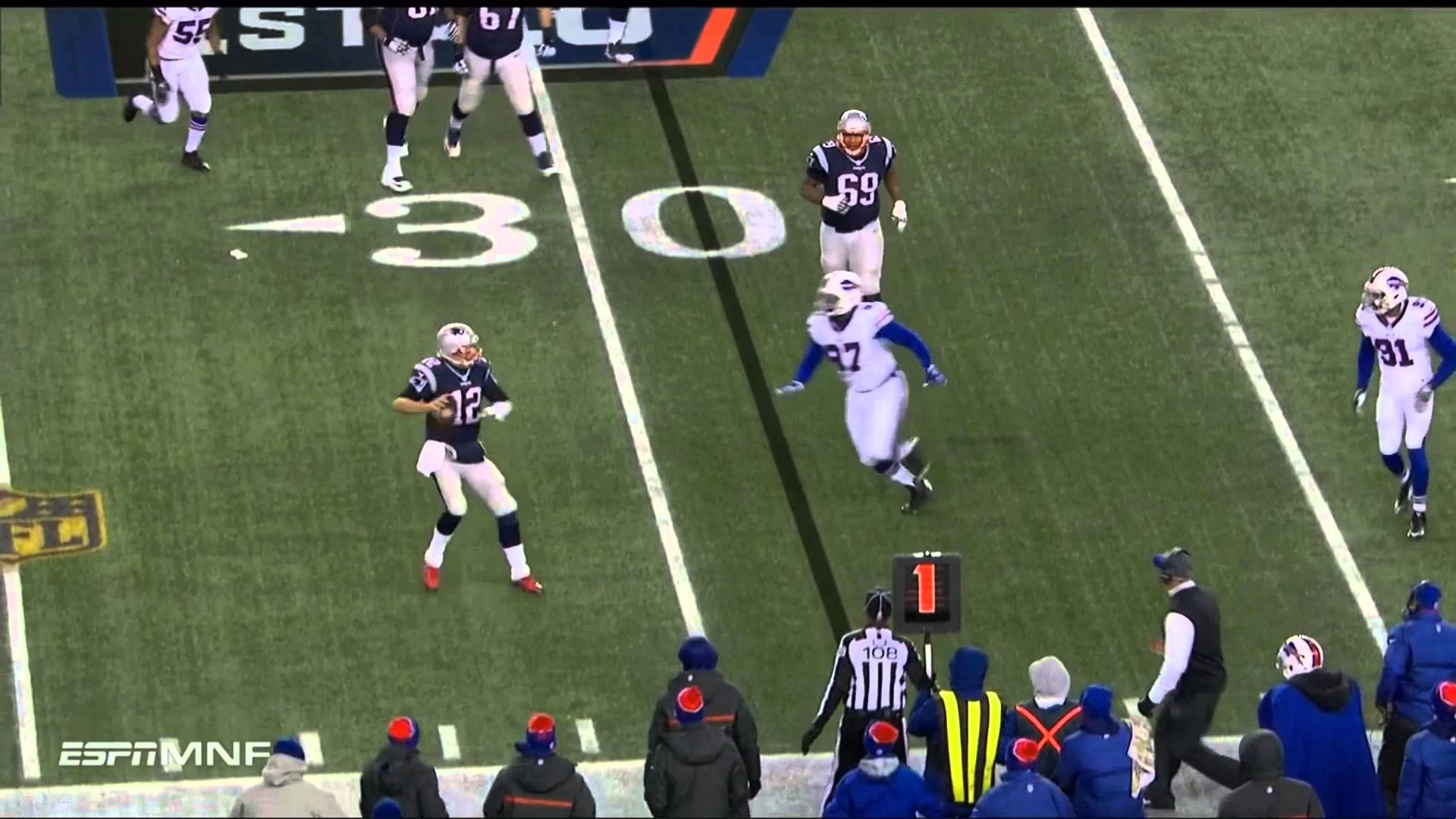 Refs inadvertent whistle costs Patriots a potential touchdown