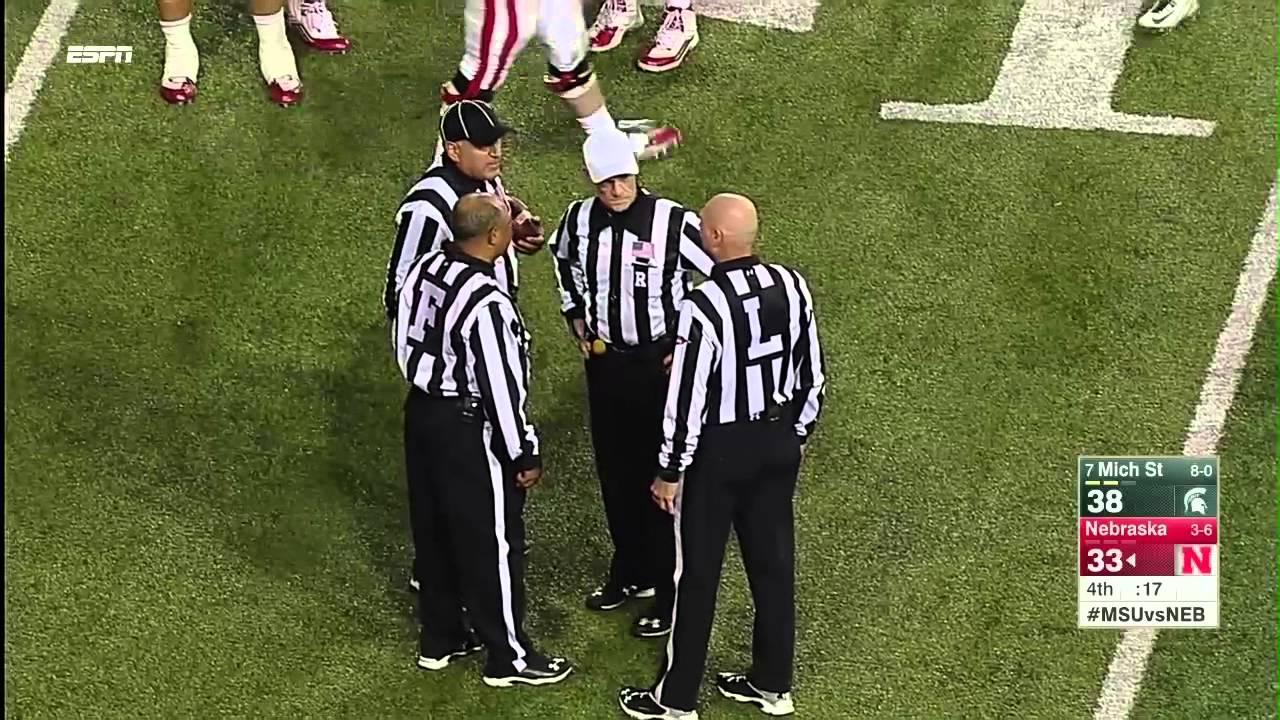 Robbery? Controversial Nebraska touchdown to beat Michigan State
