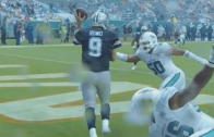Vintage Romo: Tony Romo avoids safety & makes left handed throw