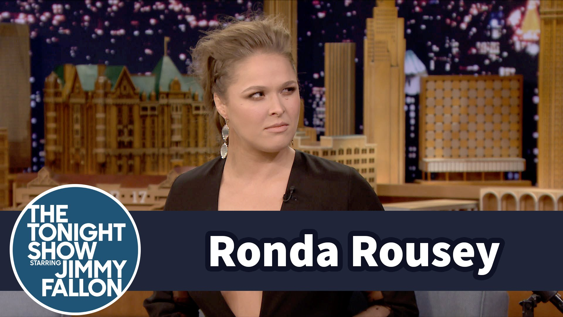 Ronda Rousey predicted her defeat to Holly Holm