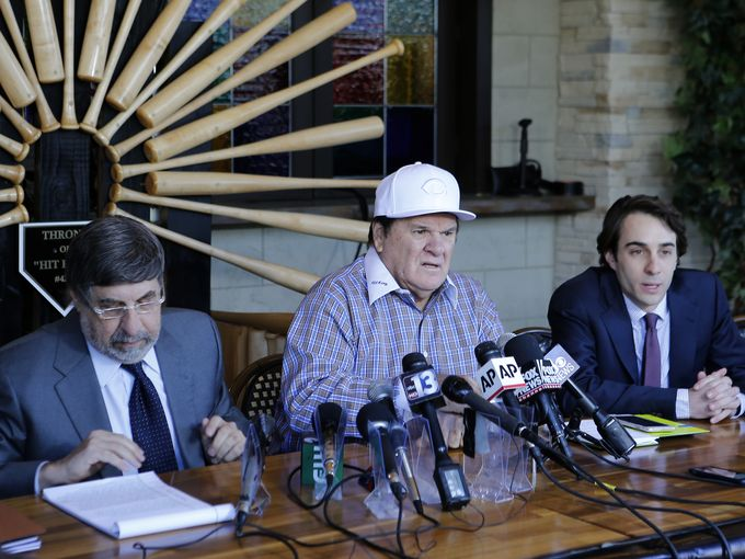 Bizarre: Pete Rose news conference on being denied for reinstatement