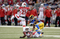 """Patrick Peterson tells the Rams """"y'all better stop fucking with me"""""""