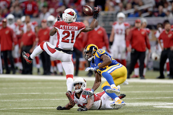 Patrick Peterson tells the Rams