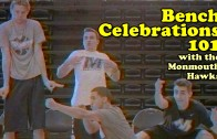 Bench Celebrations 101 with the Monmouth Hawks