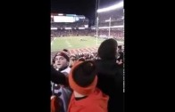Blocked field goal play through the eyes of a Cleveland Browns fan
