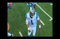 Cameras catch Cam Newton doing a perverted play call motion