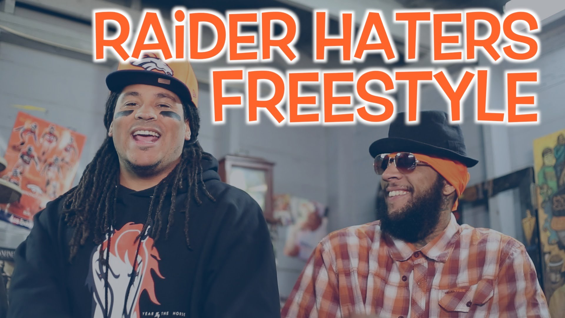 Denver Broncos fans drop an Oakland Raiders diss track to