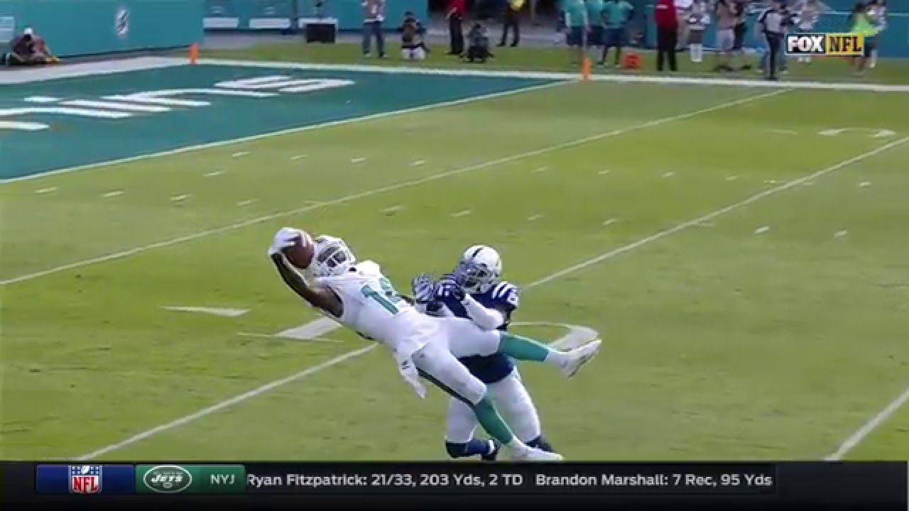Jarvis Landry makes incredible one handed catch