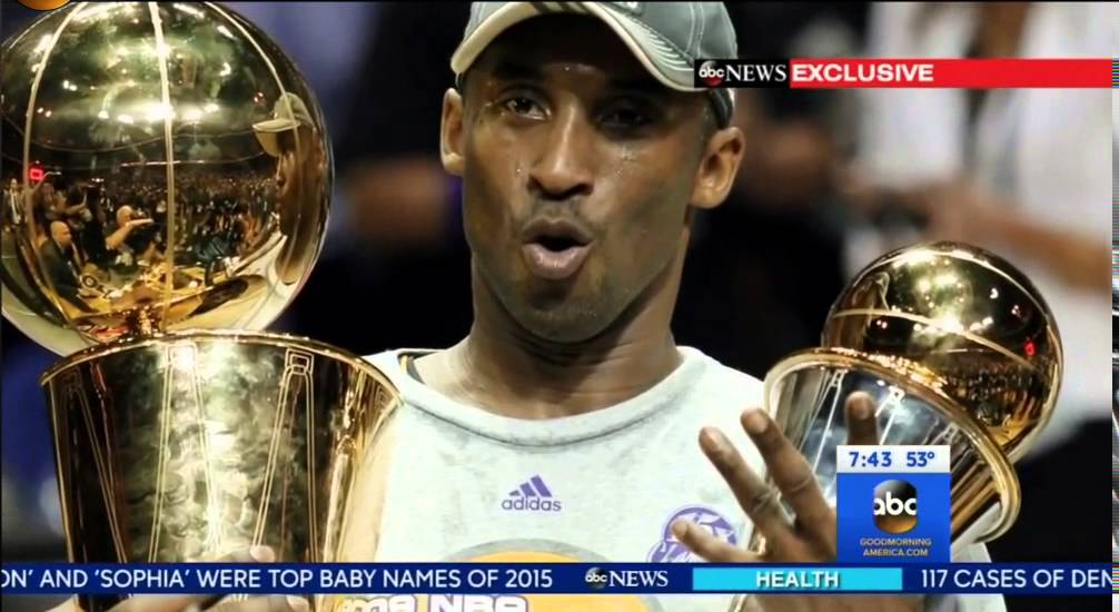 Kobe Bryant interview with Good Morning America on his retirement
