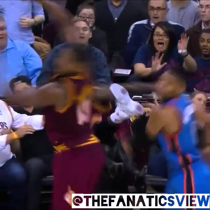 LeBron James crashes into Golfer Jason Day's wife & injures her