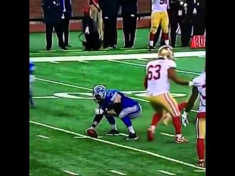 Madden Glitch: Detroit Lions center Travis Swanson forgets to snap ball