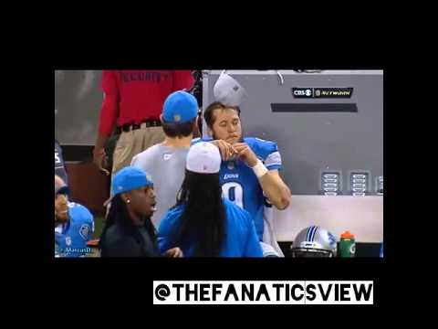 Matthew Stafford, Calvin Johnson & the Detroit Lions priceless reaction to Hail Mary