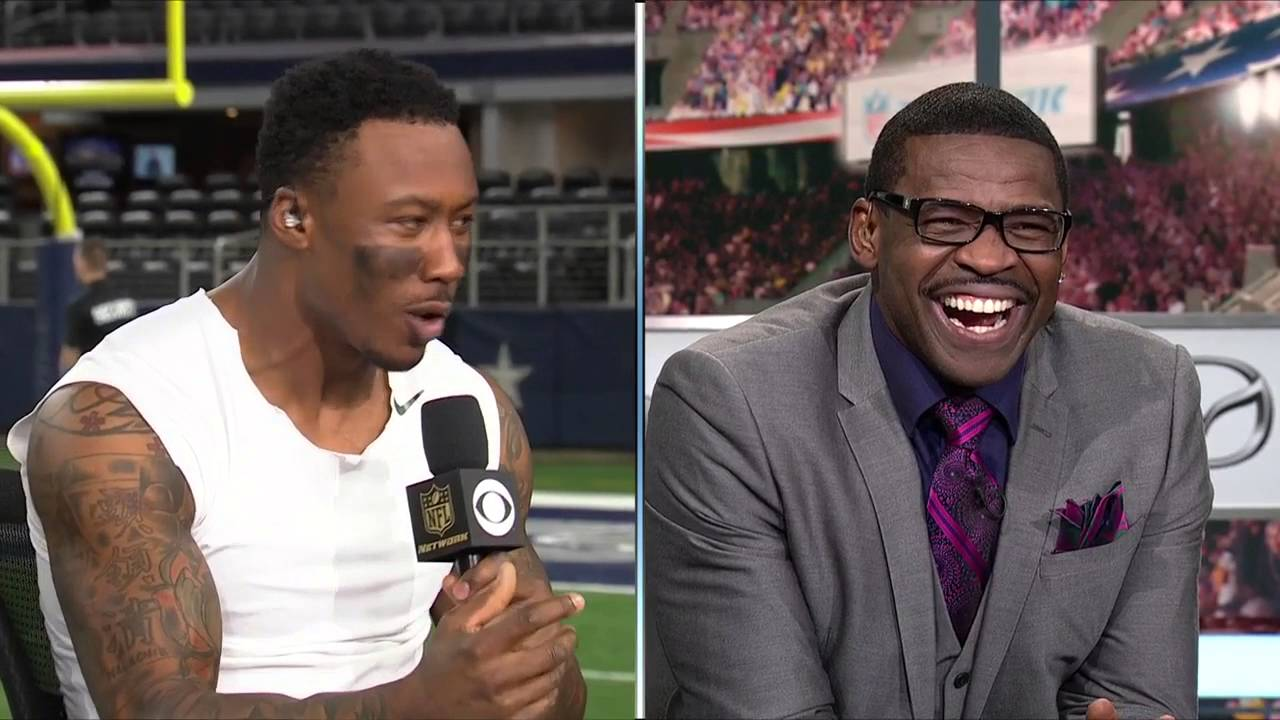 Brandon Marshall does a hilarious Michael Irvin impersonation