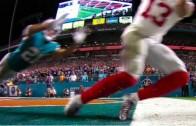 Odell Beckham makes surreal tip toe TD catch