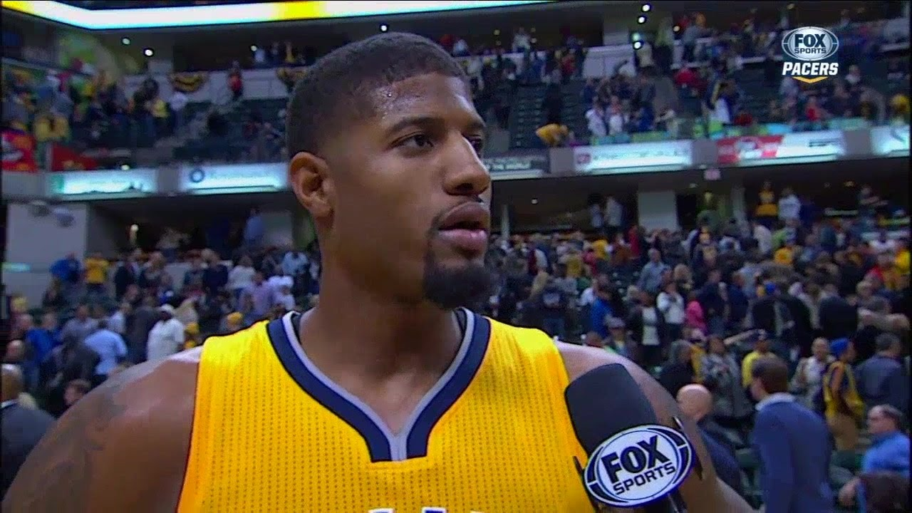 Paul George rips the zebras says