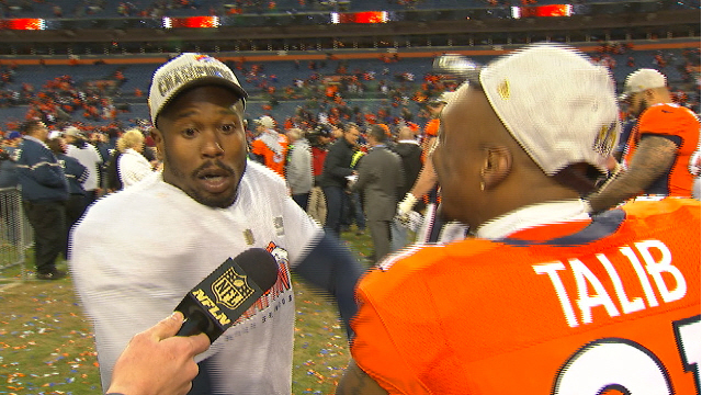 Von Miller & Aqib Talib are going to the ship