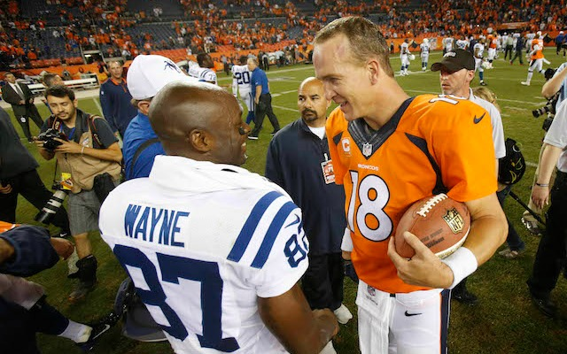 Reggie Wayne explains what Peyton Manning's