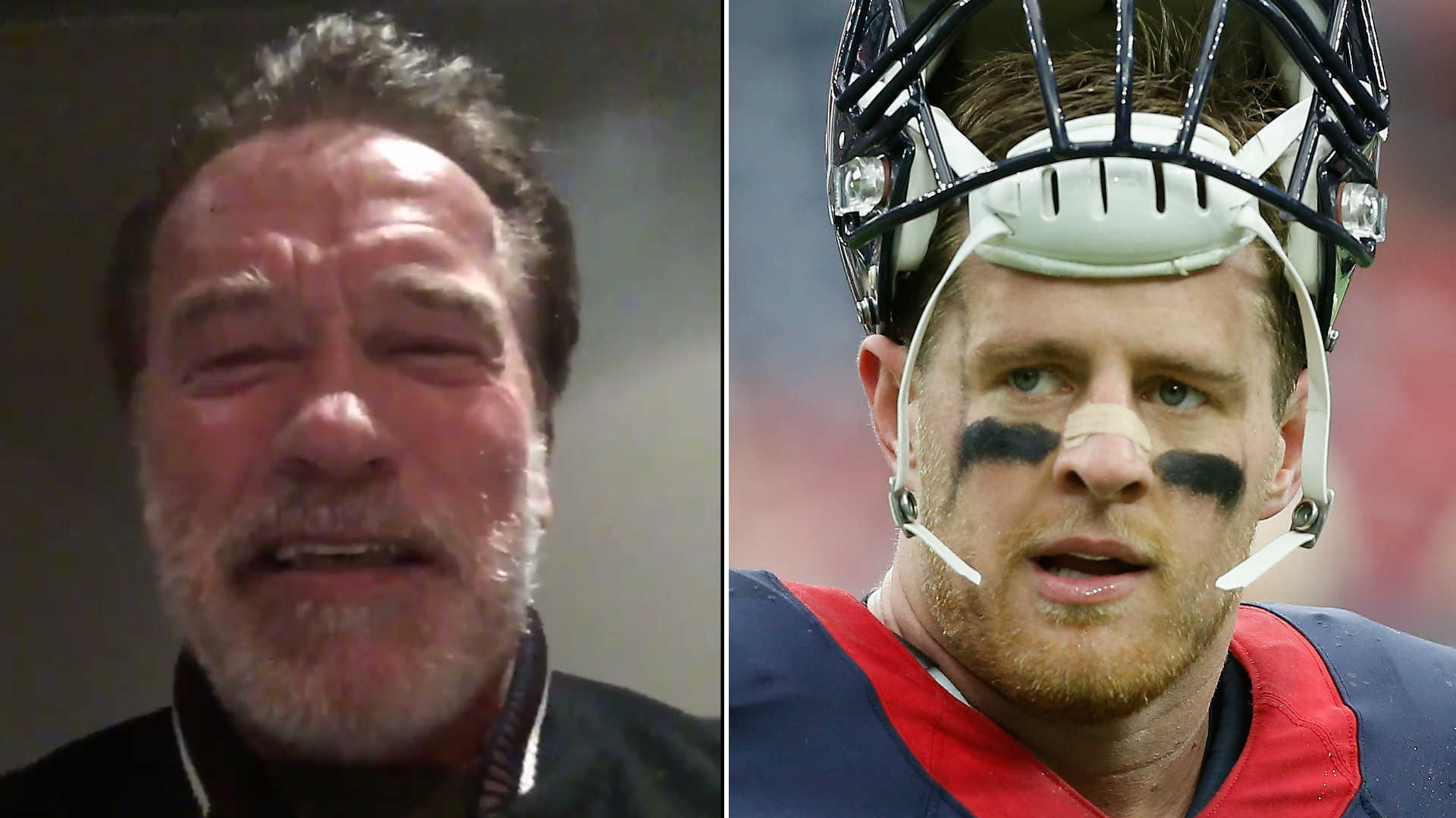 Arnold Schwarzenegger's message for J.J. Watt & the Texans