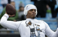 Cam Newton drops an F-Bomb during Seahawks & Panthers