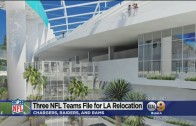 Chargers, Rams & Raiders file for relocation in Los Angeles