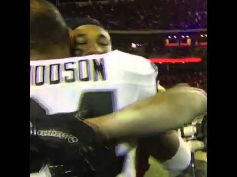 Chiefs cornerback Marcus Peters pays respect to Charles Woodson