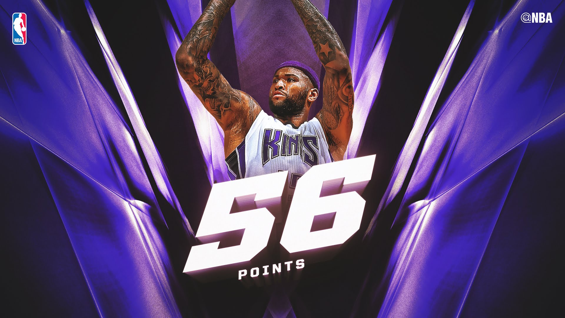 DeMarcus Cousins drops a 50 burger on the Charlotte Hornets